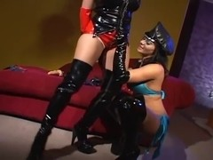 Latex Honeys In Boots