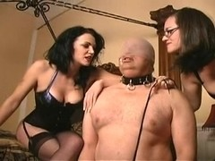 pecker fuck by two mistresse
