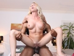Blonde Girl Get some BBC