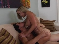 Cougar Brandi Love rides on Tyler Nixon