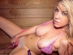 Vanessa X - Hot Pussy in the Sauna
