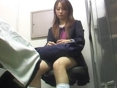 Japanese thief had to suck a long cock to get free