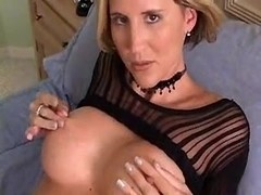 HOT HOUSEWIFE WITH GREAT ASS FINGERS HER PUSSY TILL ORGASMS