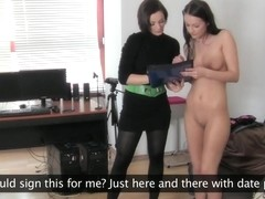 FemaleAgent HD Gorgeous and naive
