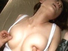 Busty Yuzu Ogura in naughty Asian action