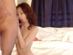 Japanese chick seduces him with her perfect shapes