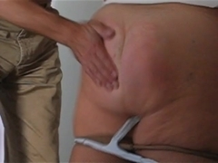 ###d spanked and masturbed