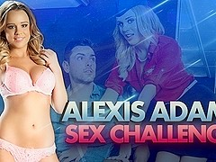 Alexis Adams & Ryan Driller  in Alexis Adams in DP Star Sex Challenge
