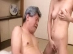 The wife gave the father-in-law raunchy care two