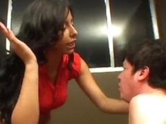 Youthful &, Angry Dominant-Bitch Wench Slaps her Personal Thrall