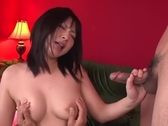 Incredible Japanese model Megumi Haruka in Exotic JAV uncensored Creampie movie