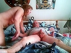 Fucking mature wife on bed hard