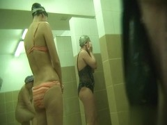 Hidden cameras in public pool showers 582