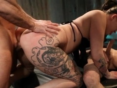 Incredible pornstar in Horny Threesomes, Gothic xxx scene