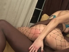 Incredible pornstar Nikki Nievez in horny creampie, lingerie sex clip