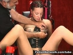 sexy chick loves extreme BDSM punishments