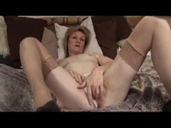 Mature, strips & uses toy
