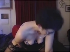 Toys and Fingers on Webcam Delayed but Repeated Orgasms