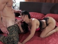 Johnny Sins' cock intends to destroy Isis Love's consistency
