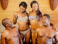 Skyler Nicole, Chanell Heart in Party In America: Part One Scene