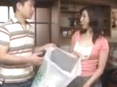 Horny Asian Step Mother
