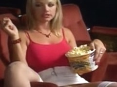 Vicky Vette - Hawt Trio in a Cinema