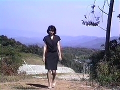 Transformation mother of erotic movie scenes of undressed masturbation in the field!
