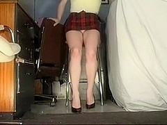 Candid Upskirt Non-Professional Wife Filmed on Voyeur Camera
