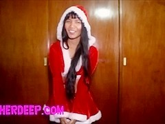 Christmas free full fuck creampie from heatherdeep.com