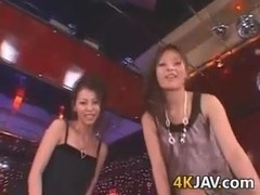 Hot Japanese Sluts In A Threesome