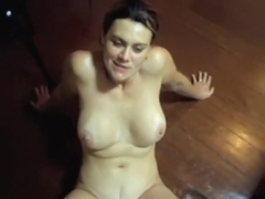 Latina ass destroyed on the table