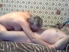 Short haired russian girl has wild sex in various positions