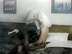 Jan in hotelroom in Vegas getting drilled in her a-hole by a large darksome jock
