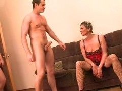 gangbang with mature