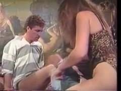 Two couples fuck in a lusty vintage porn video
