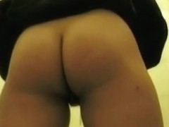 College girl caught on tape when peeing and pooping
