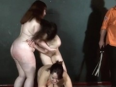 3 slavegirls whipping and outlandish agony to tears