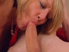 Young guy with big dick fucks his new sexy mature landlady by AgedLove