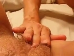 He fingers and tongue fucks my creamy pussy. Any ladies want a taste?