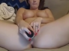 Milf pussy play with vibe
