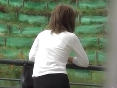 Privacy shattered from filming her vagina for Japan sharking