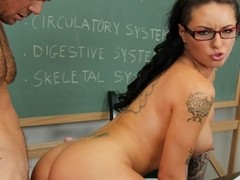 Christy Mack & Justin Magnum in Naughty Book Worms