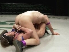 Semi Final match up Loser is totally dominated finger fucked and leg scissored into submission