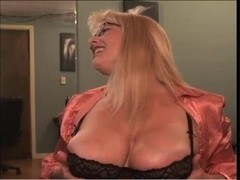 Lewd white Mother I'd Like To Fuck whoring on Webcam