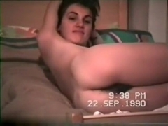 An oldie vhs episode remastered on digital dvd of a lustful latin pair making love
