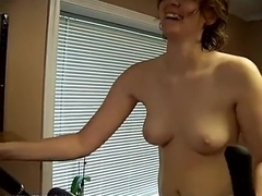 Filming my loved wife
