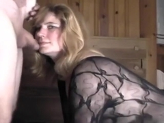 Big Admirable-Looking Woman copulates doggy style and cum drink