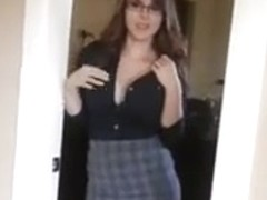 Babe with glasses
