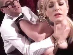 From nerdy student to anal slave