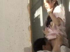 Japanese doctor caught on camera while nailing a nurse